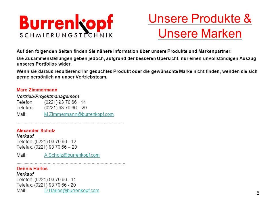 Unsere Produkte & Unsere Marken