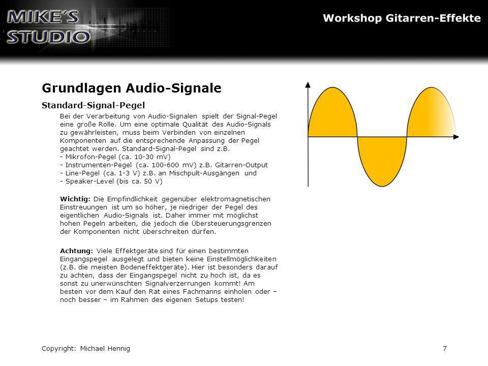 Grundlagen Audio-Signale