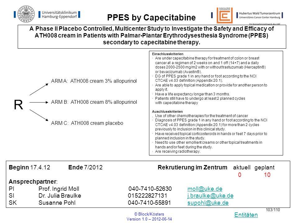 secondary to capecitabine therapy.