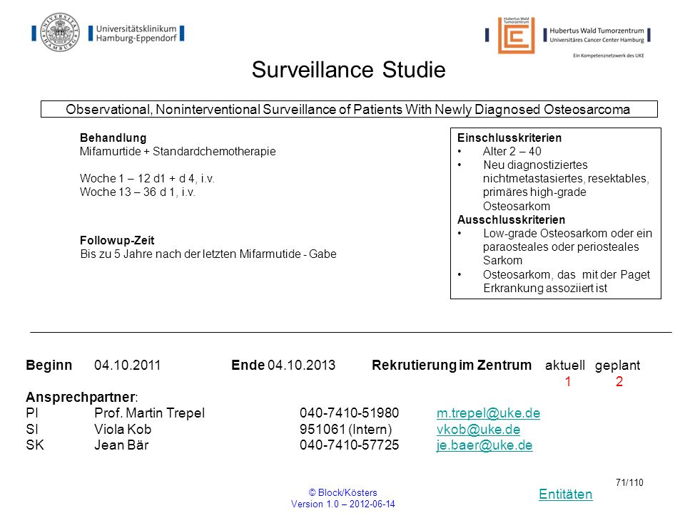 Surveillance Studie Observational, Noninterventional Surveillance of Patients With Newly Diagnosed Osteosarcoma.
