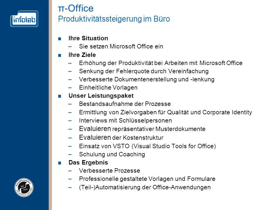 π-Office Produktivitätssteigerung im Büro