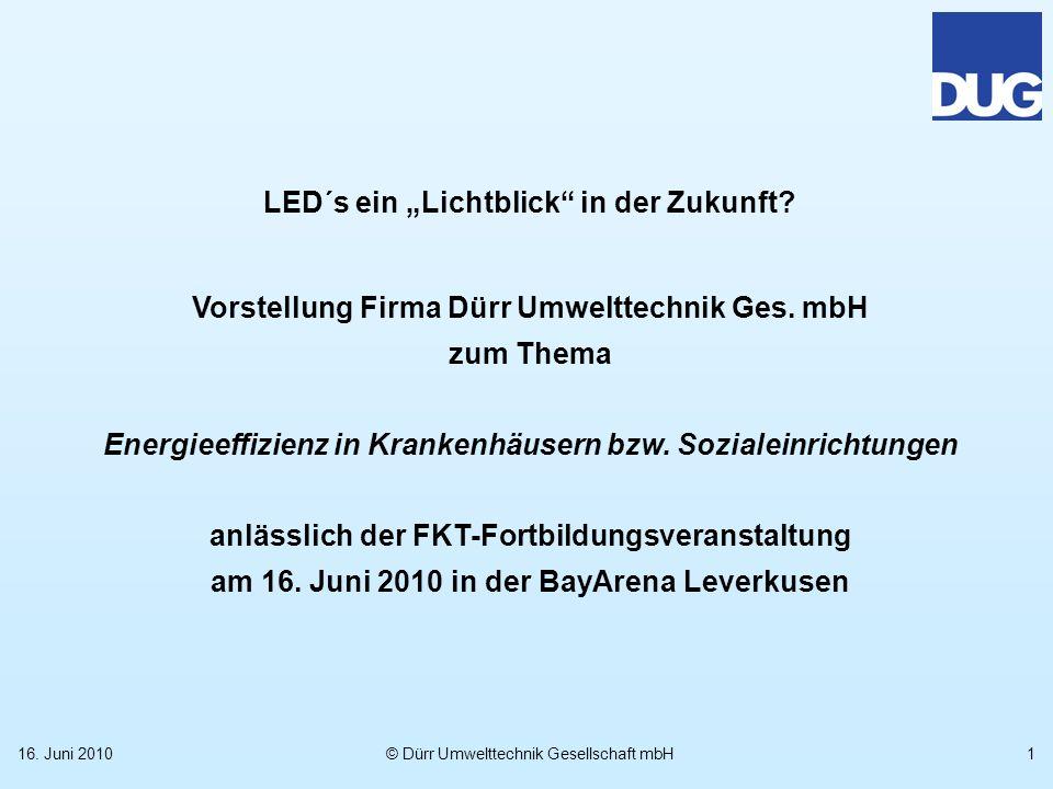"""LED´s ein """"Lichtblick in der Zukunft"""