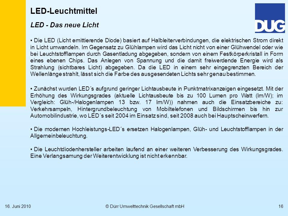 LED - Das neue Licht