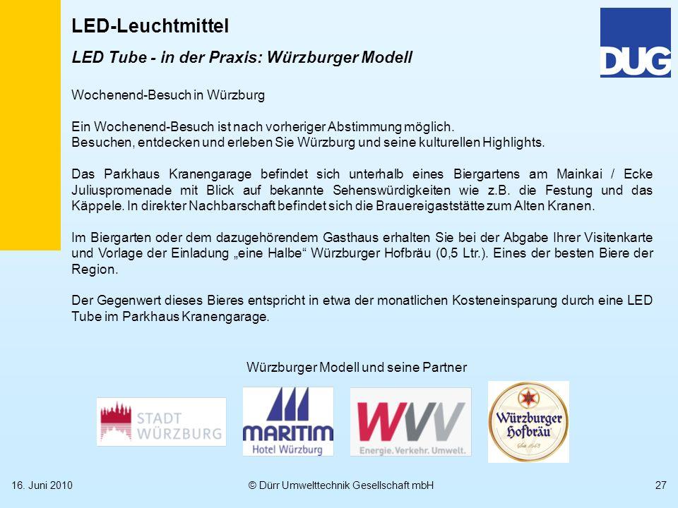 Würzburger Modell und seine Partner
