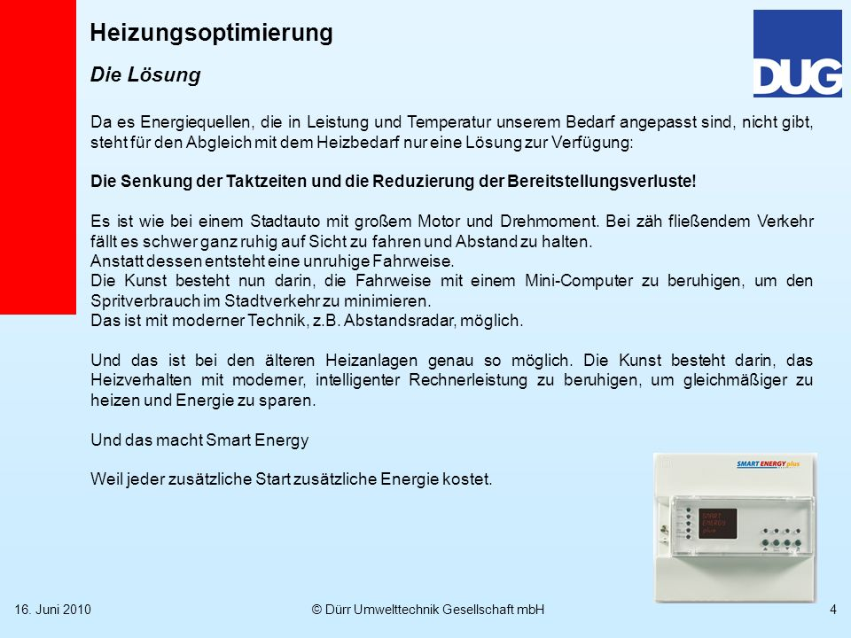 Weitere Info www.umwelttechnik-duerr.de