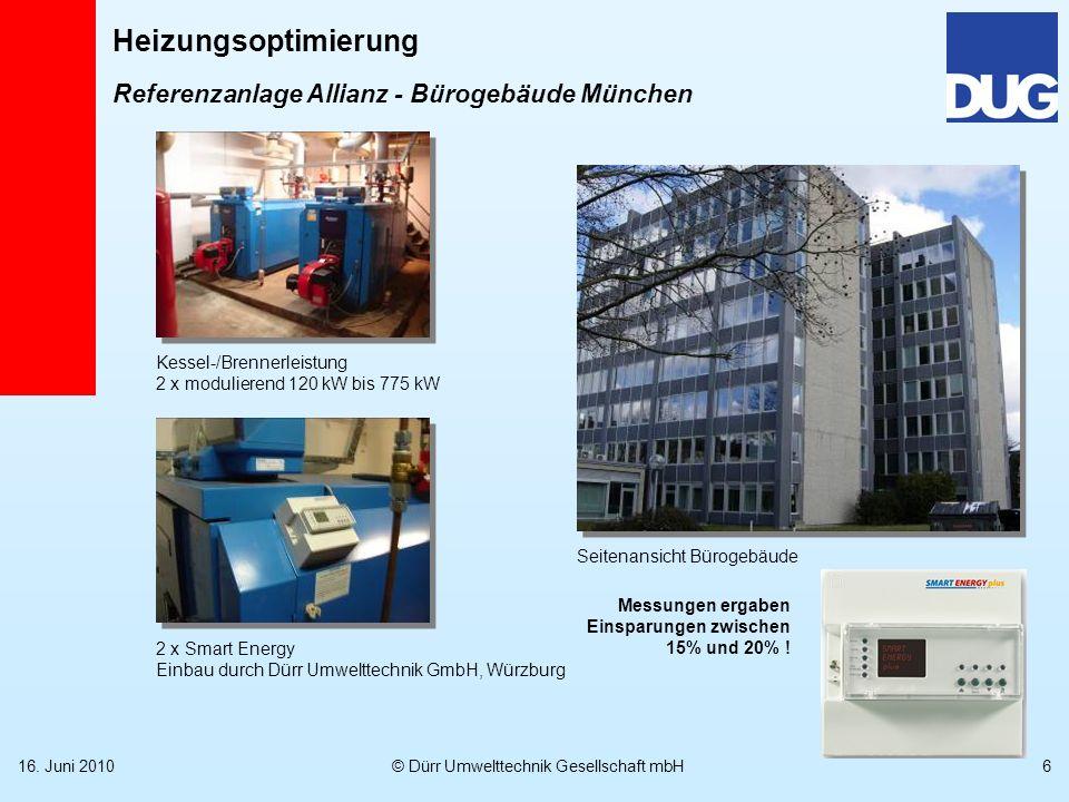 Referenzanlage Allianz - Bürogebäude München