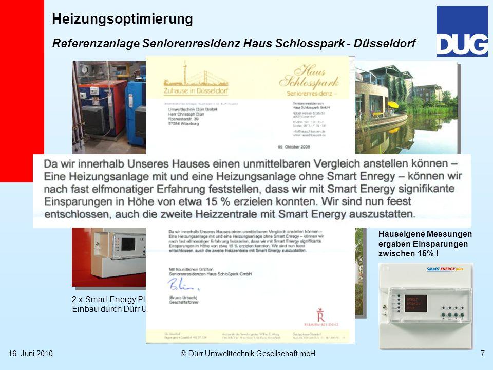 Referenzanlage Seniorenresidenz Haus Schlosspark - Düsseldorf