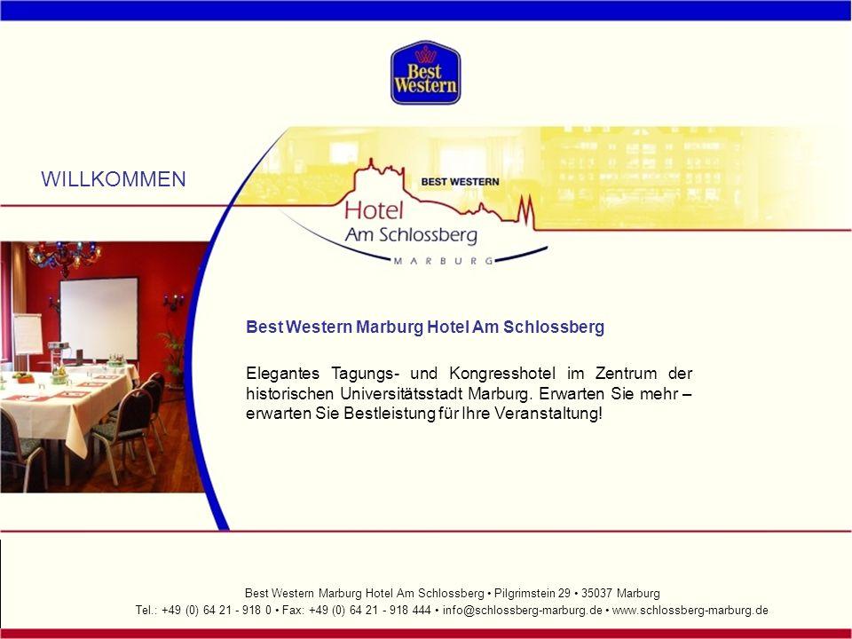 WILLKOMMEN Best Western Marburg Hotel Am Schlossberg