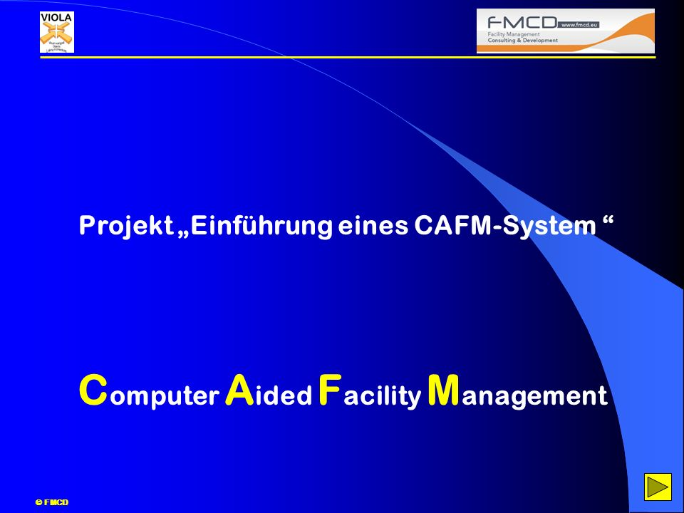 Computer Aided Facility Management