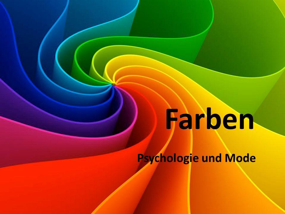 Farben Psychologie und Mode