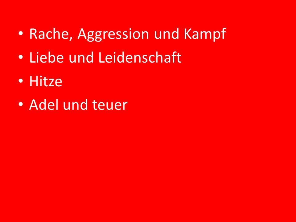 Rache, Aggression und Kampf
