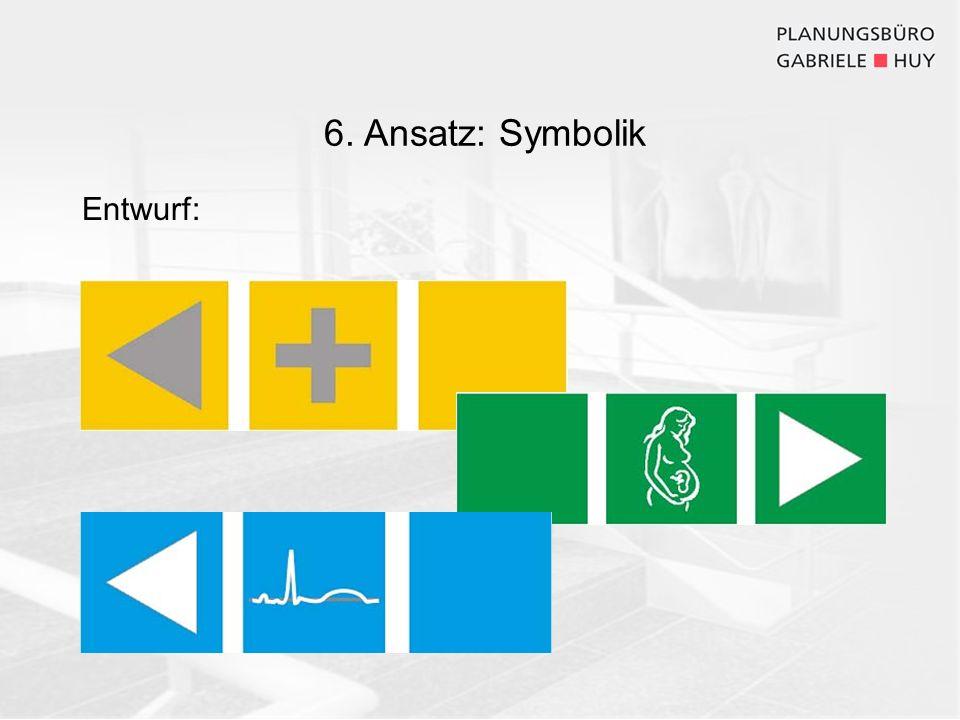 6. Ansatz: Symbolik Entwurf: