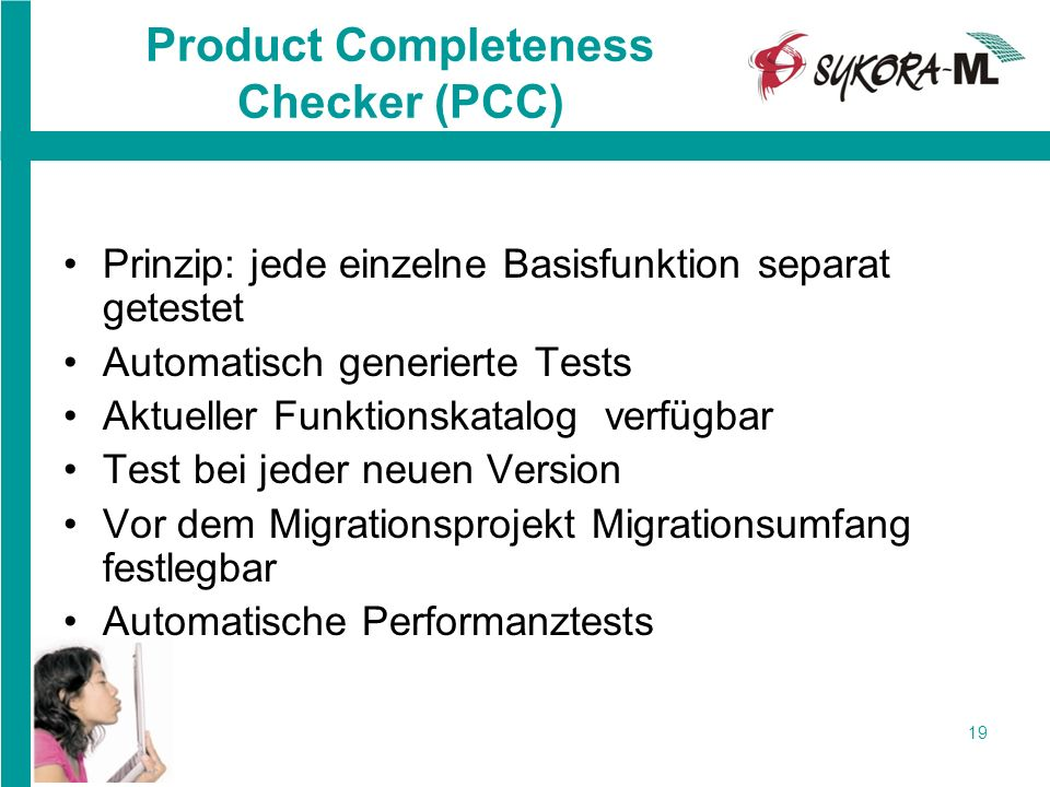 Product Completeness Checker (PCC)