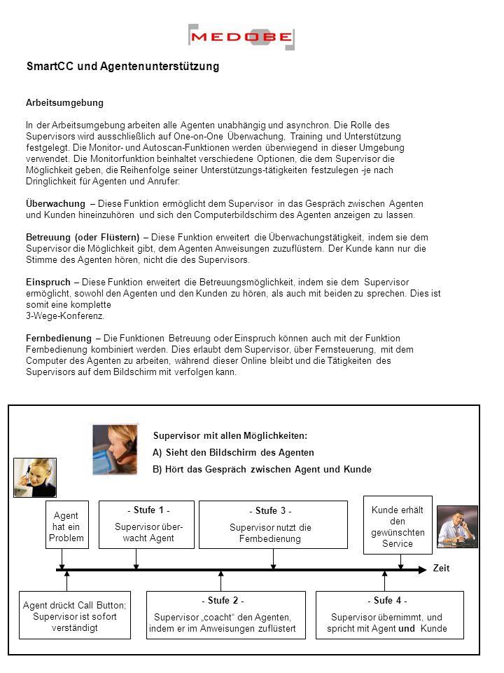 SmartCC und Agentenunterstützung