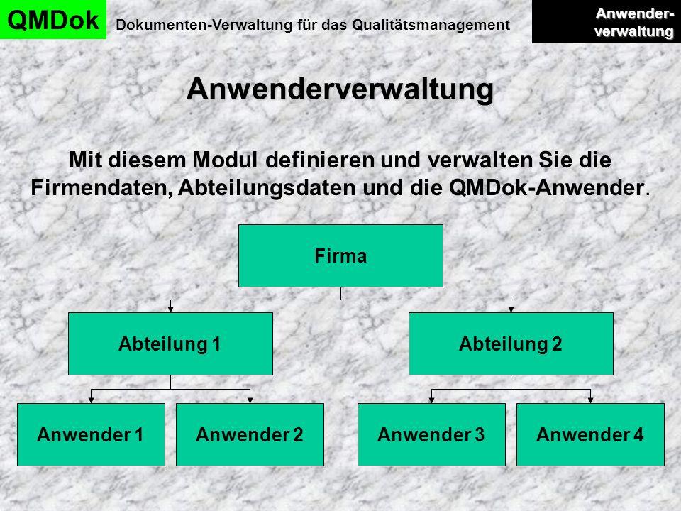 Dokumenten-Verwaltung für das Qualitätsmanagement