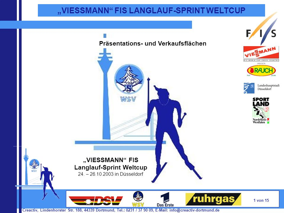 Langlauf-Sprint Weltcup