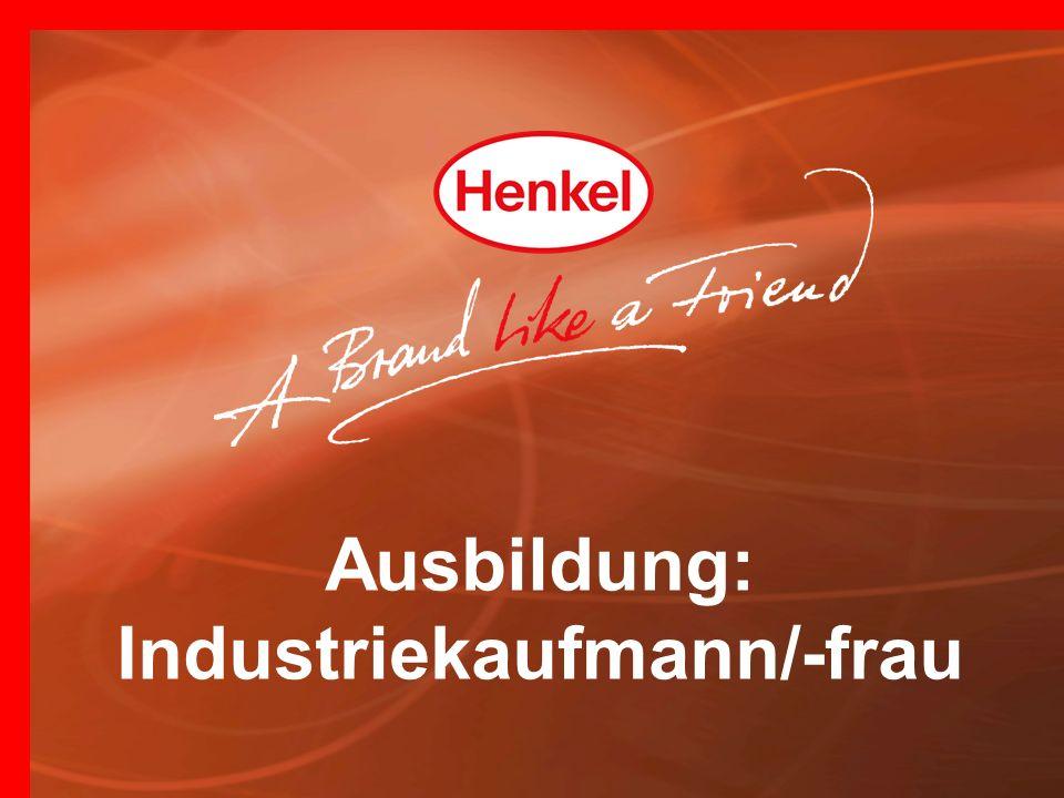 Ausbildung: Industriekaufmann/-frau