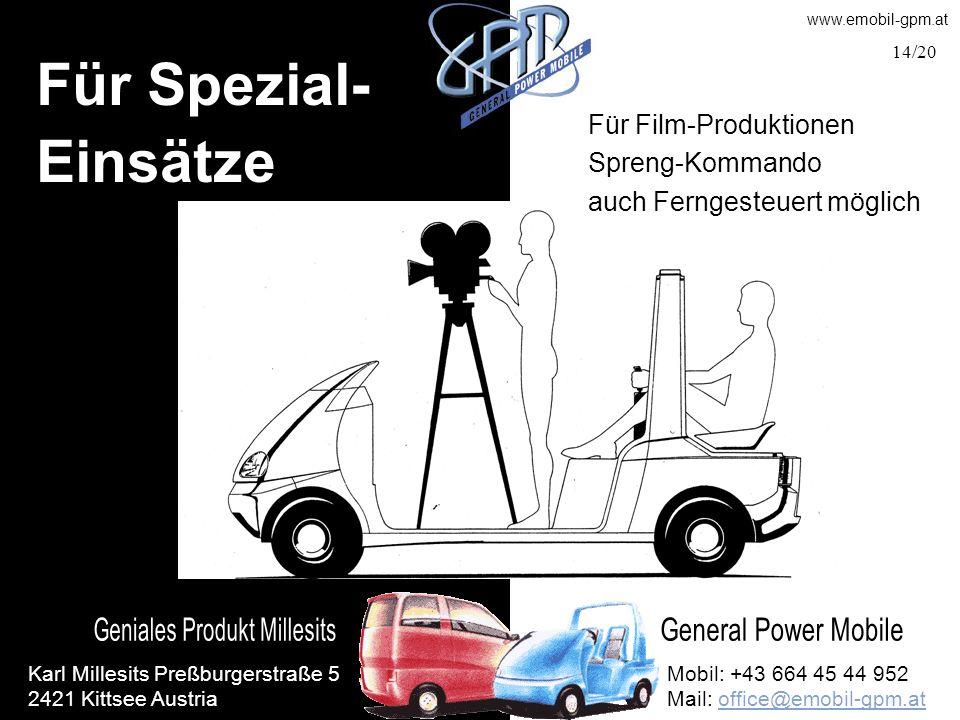 Für Spezial- Einsätze Für Film-Produktionen Spreng-Kommando