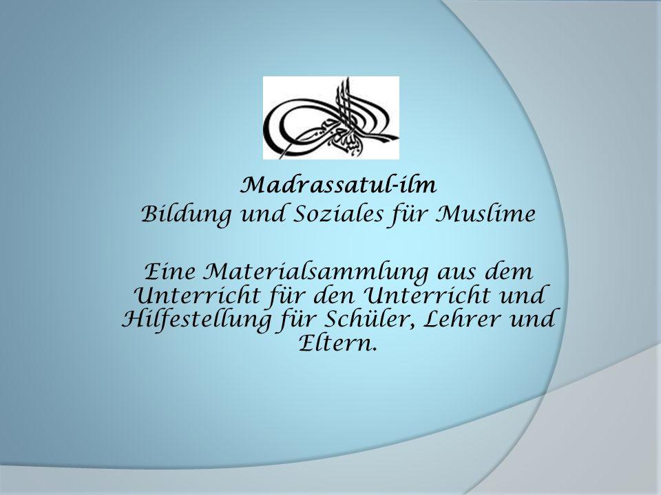 Bildung und Soziales für Muslime