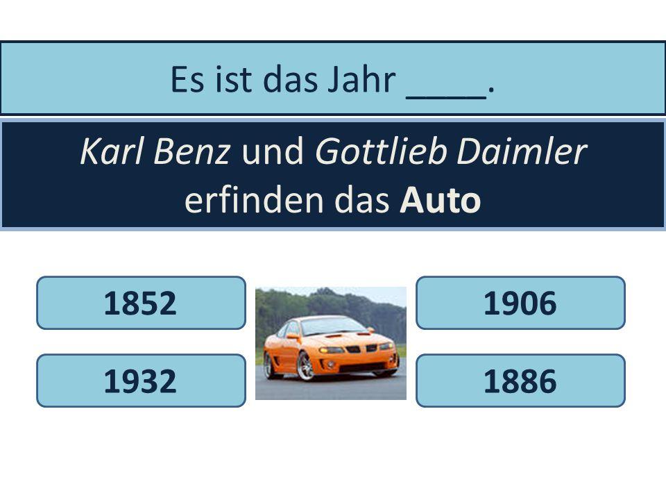 Karl Benz und Gottlieb Daimler