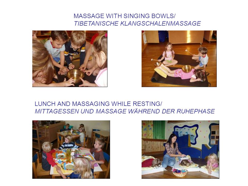MASSAGE WITH SINGING BOWLS/