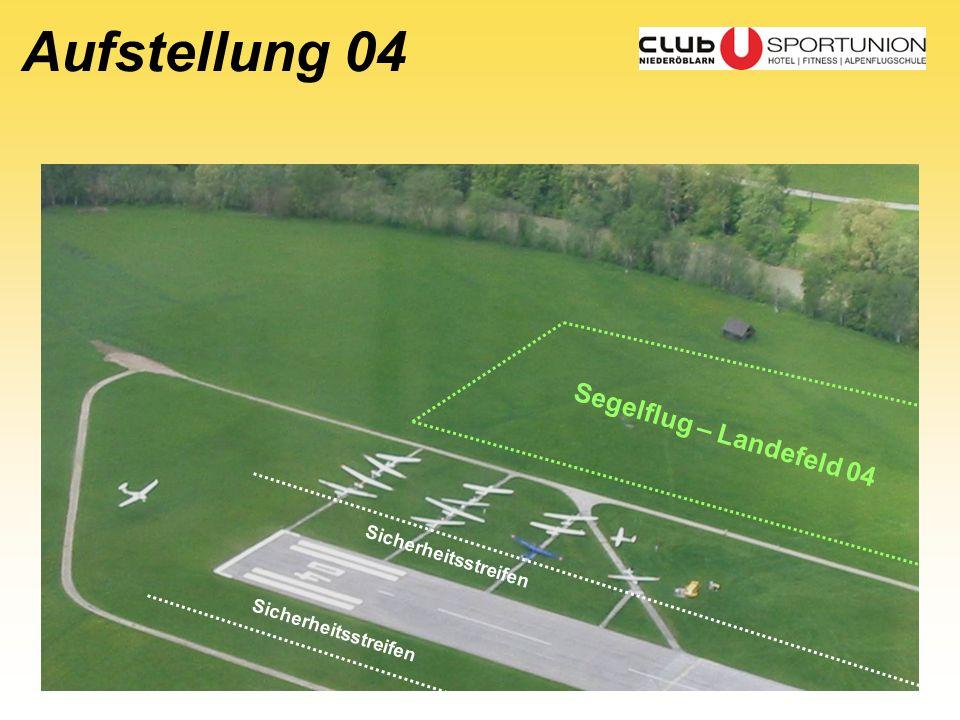 Aufstellung 04 Segelflug – Landefeld 04 Sicherheitsstreifen
