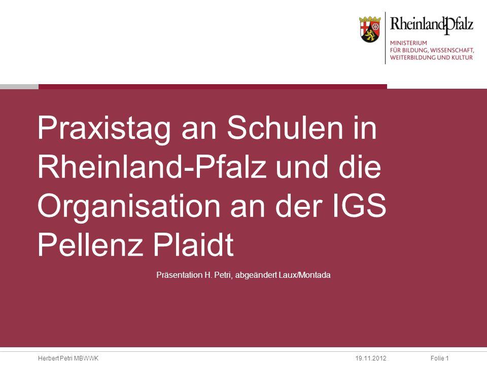 Präsentation H. Petri, abgeändert Laux/Montada