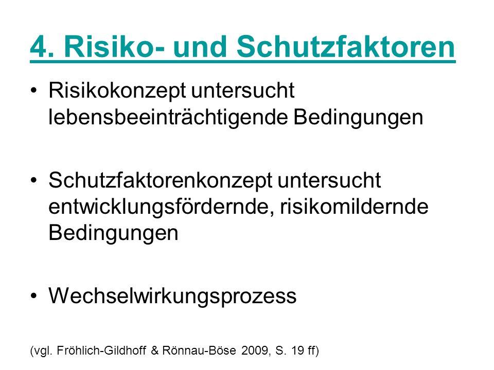 4. Risiko- und Schutzfaktoren