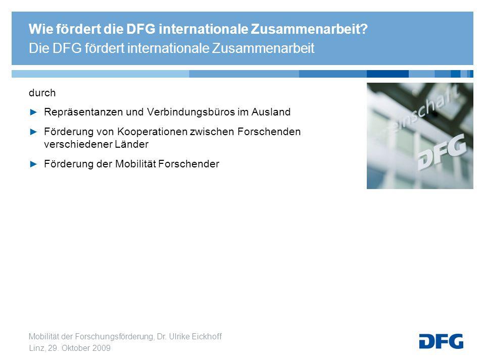 Wie fördert die DFG internationale Zusammenarbeit