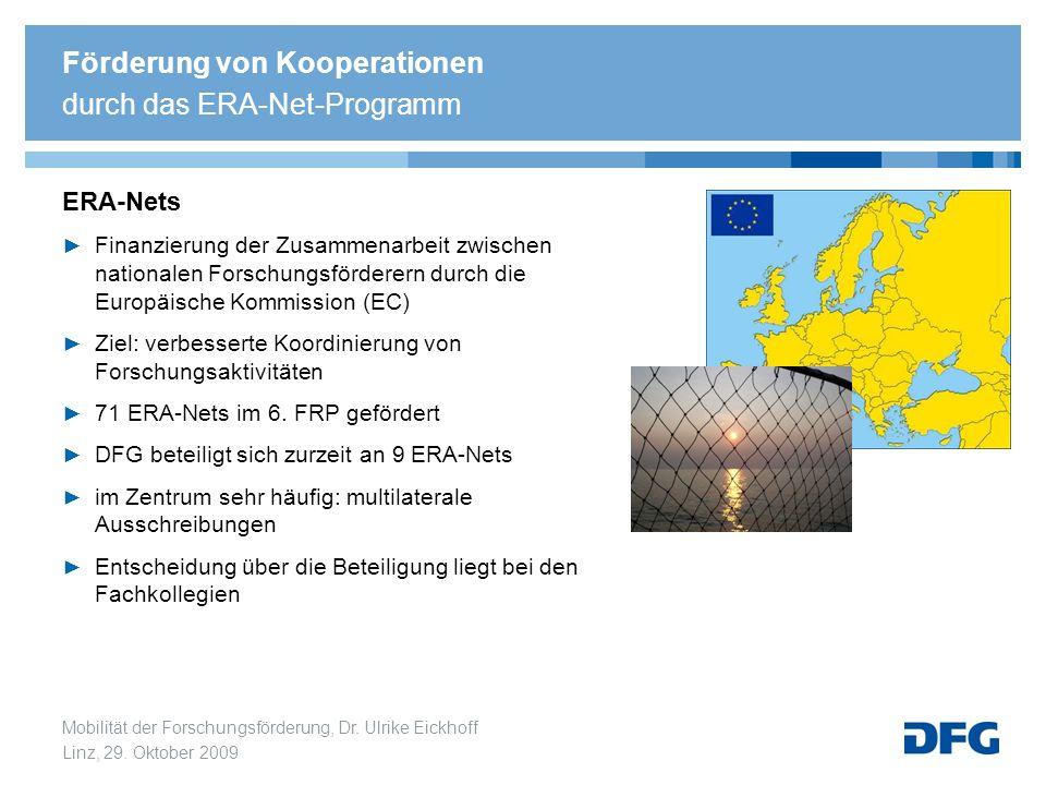 Förderung von Kooperationen durch das ERA-Net-Programm