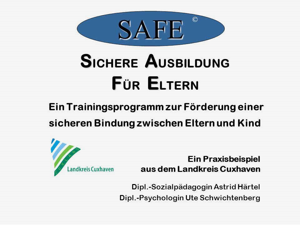 SAFE © SICHERE AUSBILDUNG FÜR ELTERN Ein Trainingsprogramm zur Förderung einer sicheren Bindung zwischen Eltern und Kind.