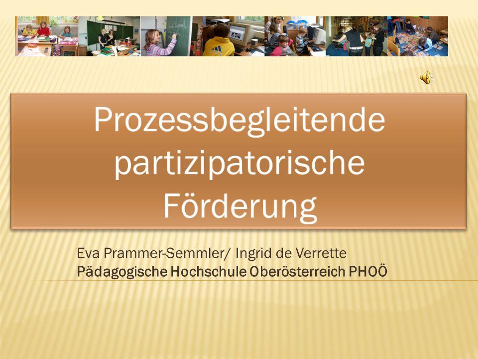 Prozessbegleitende partizipatorische