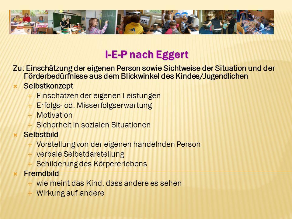 I-E-P nach Eggert