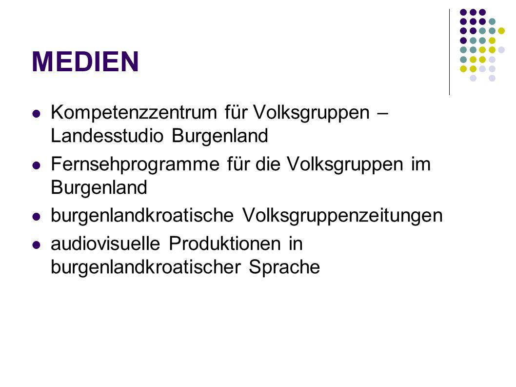 MEDIEN Kompetenzzentrum für Volksgruppen – Landesstudio Burgenland