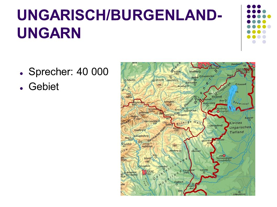 UNGARISCH/BURGENLAND-UNGARN