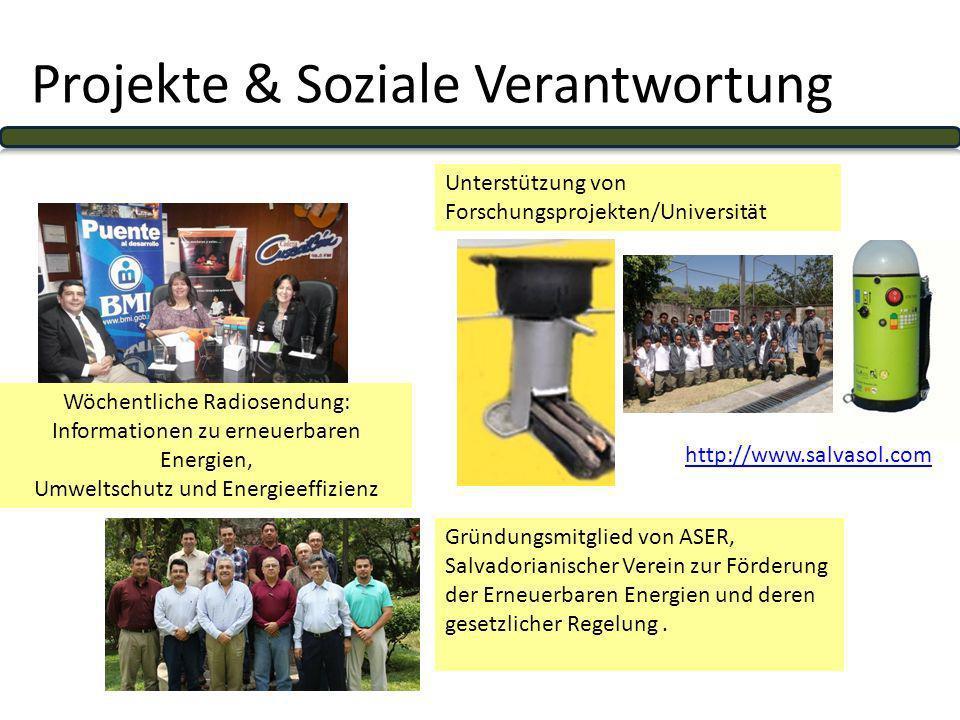 Projekte & Soziale Verantwortung