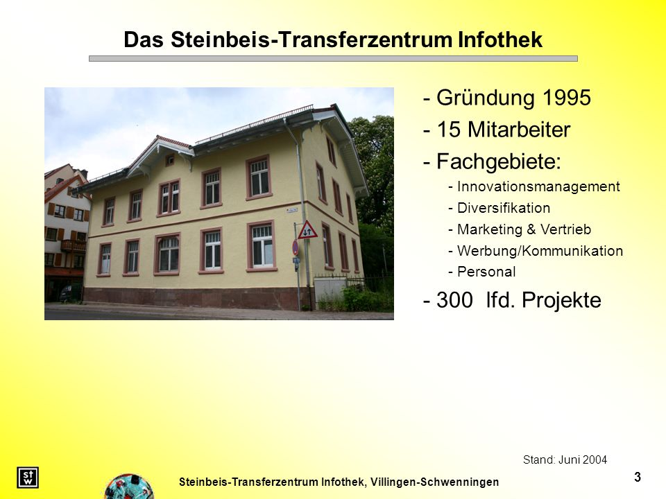 Das Steinbeis-Transferzentrum Infothek