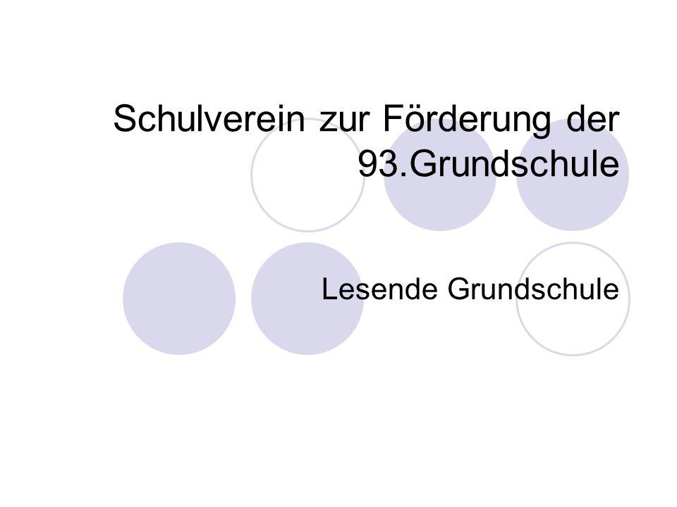 Schulverein zur Förderung der 93.Grundschule