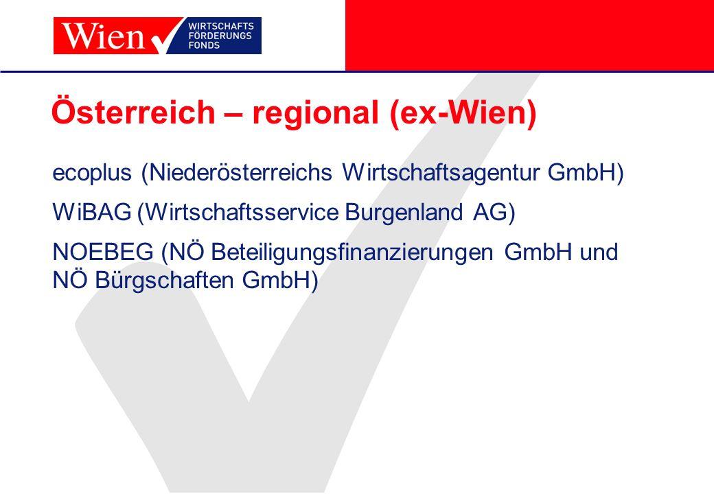Österreich – regional (ex-Wien)