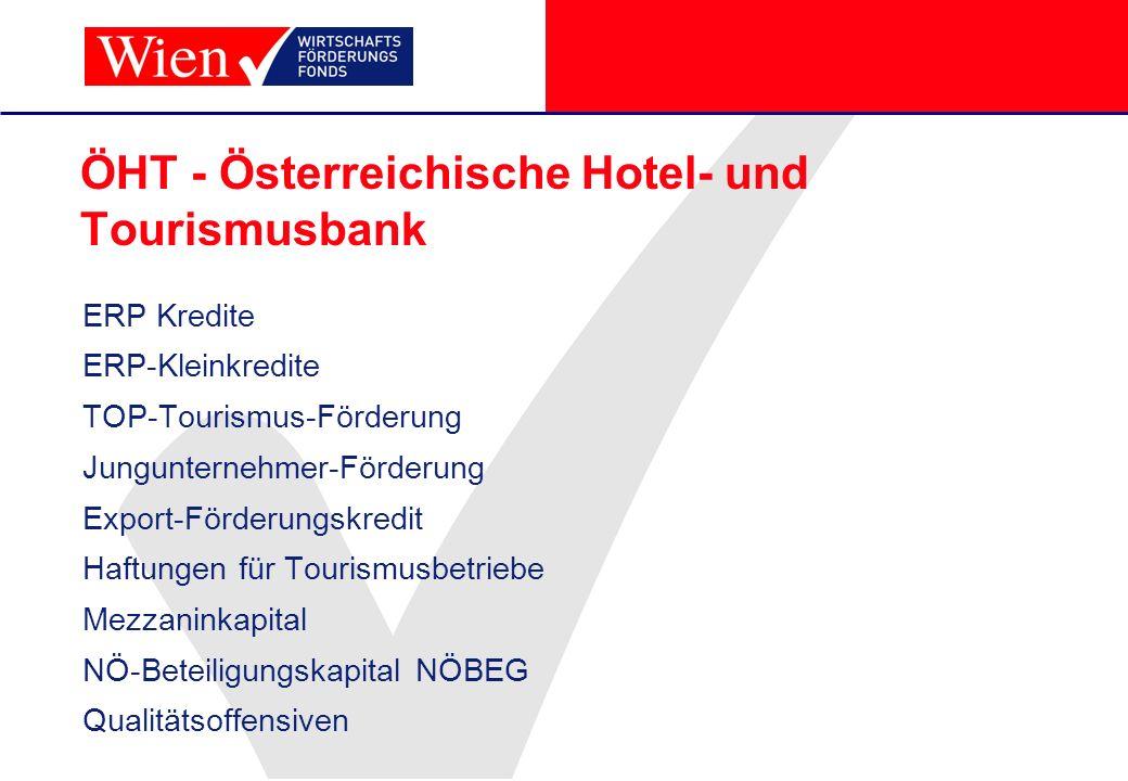 ÖHT - Österreichische Hotel- und Tourismusbank