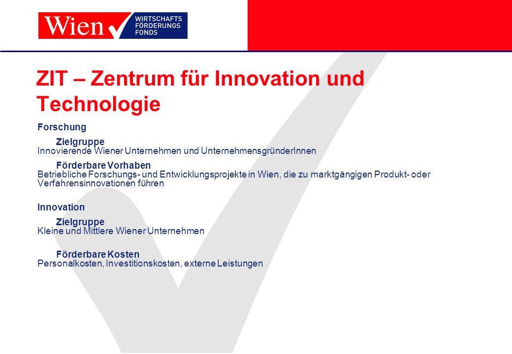 ZIT – Zentrum für Innovation und Technologie