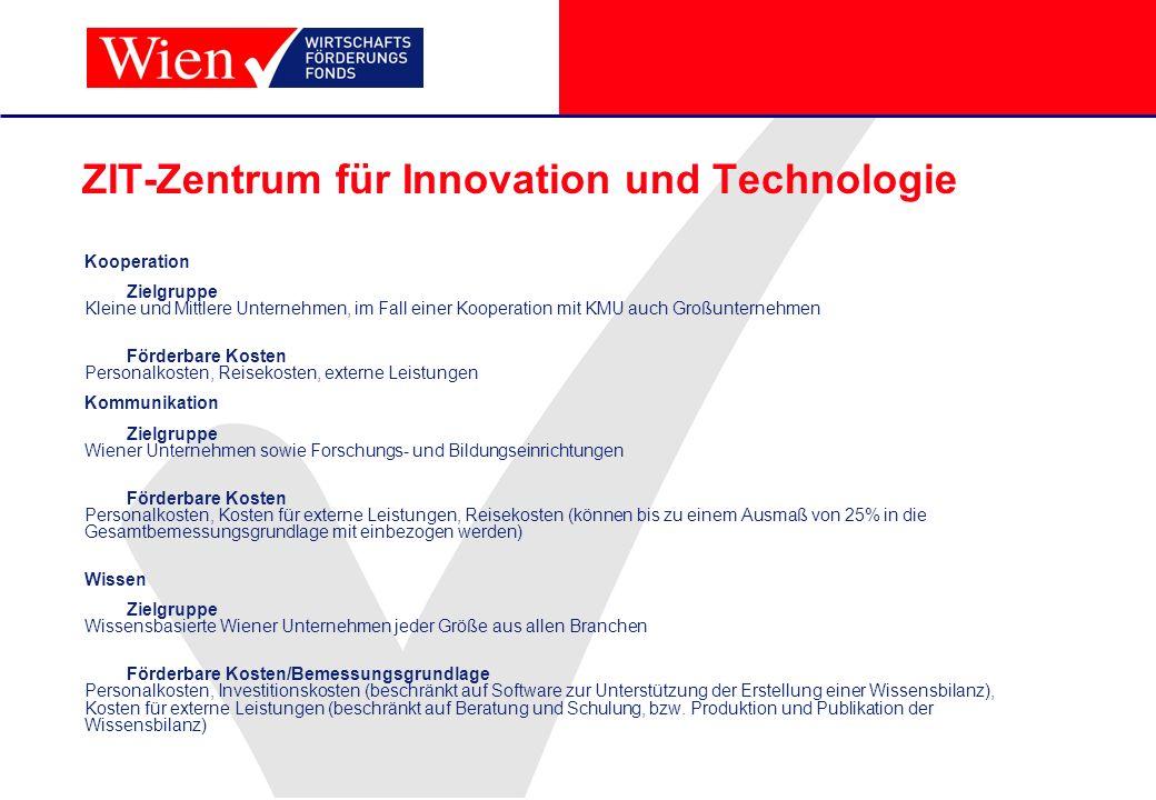 ZIT-Zentrum für Innovation und Technologie