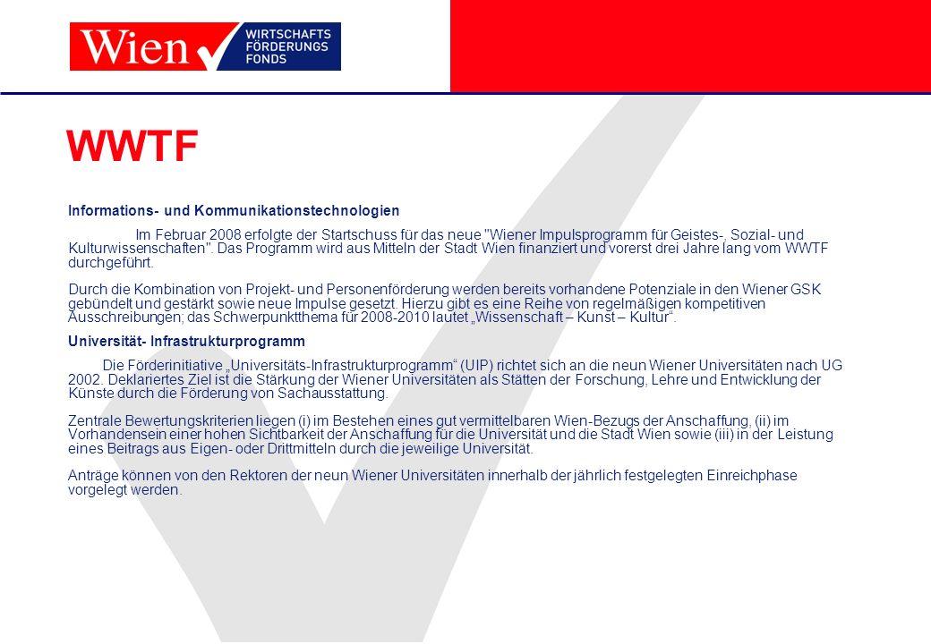 WWTF Informations- und Kommunikationstechnologien