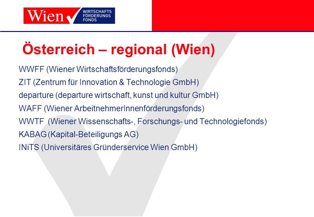 Österreich – regional (Wien)