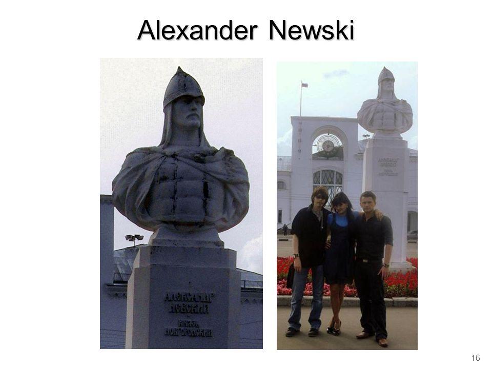 Alexander Newski 16
