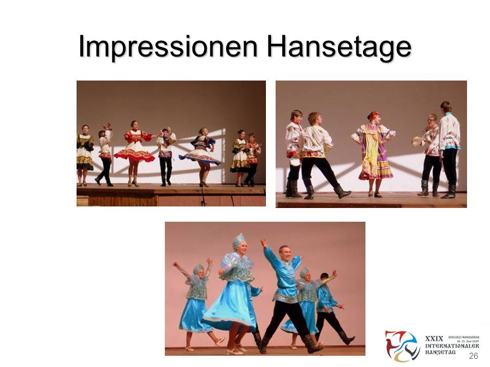 Impressionen Hansetage