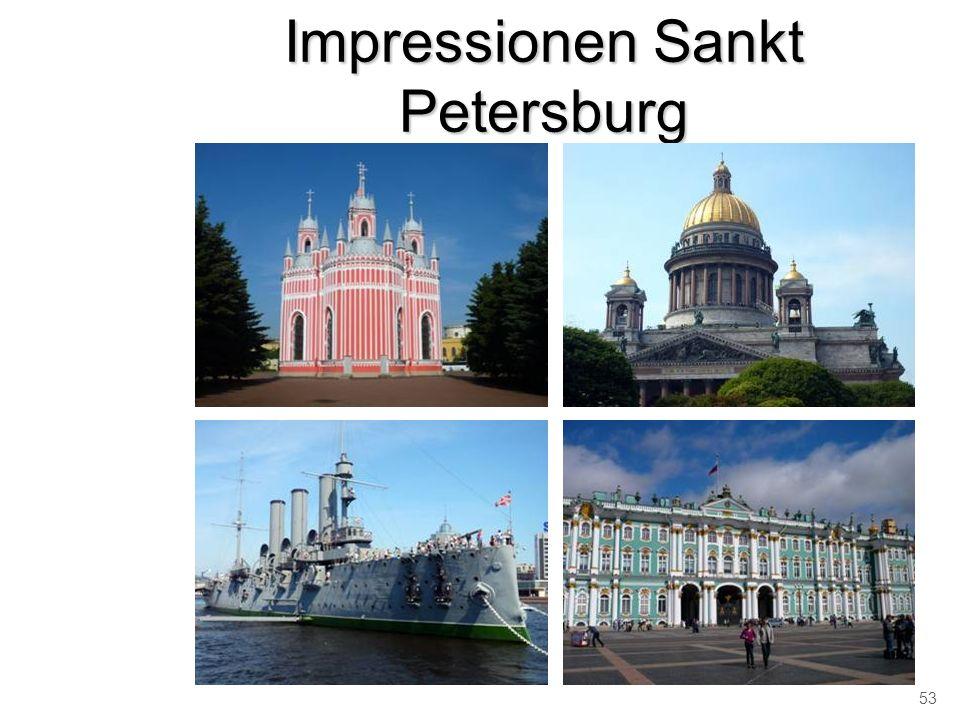 Impressionen Sankt Petersburg