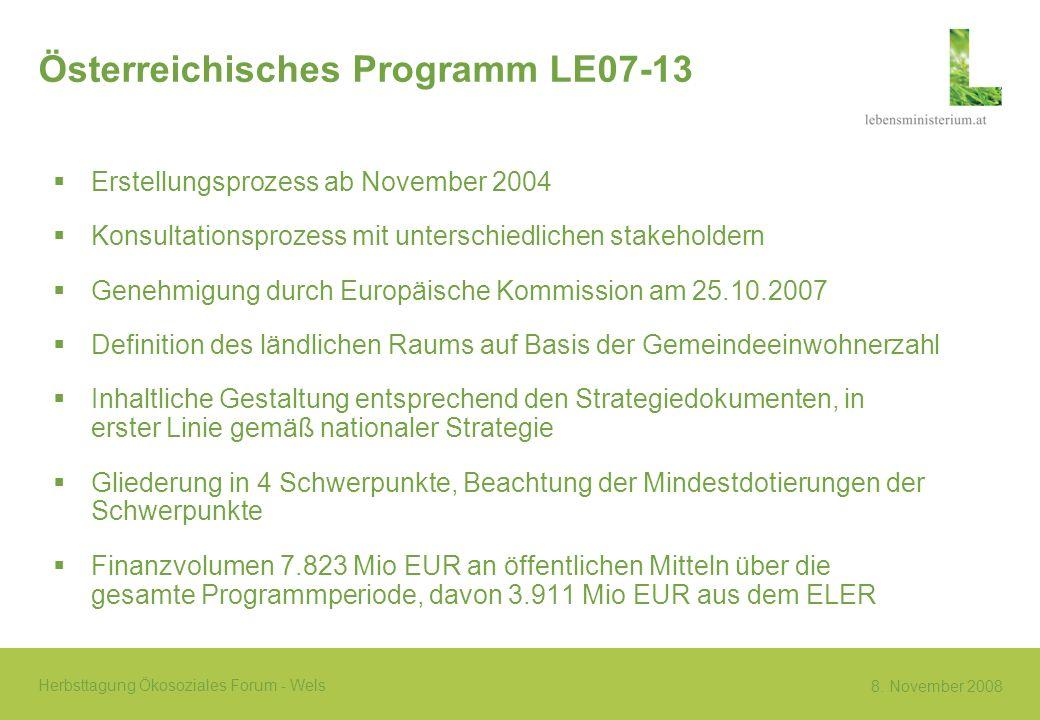 Österreichisches Programm LE07-13