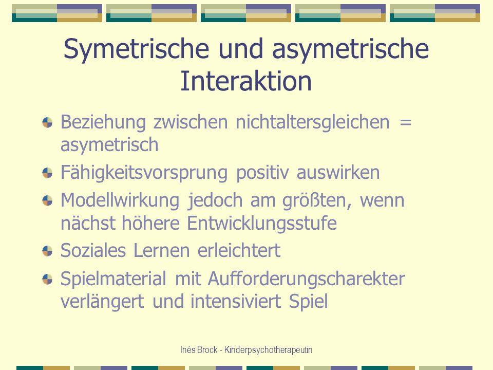 Symetrische und asymetrische Interaktion