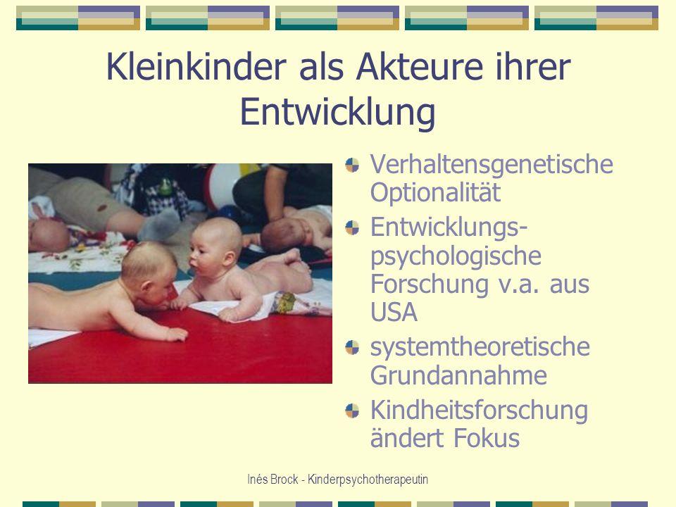 Kleinkinder als Akteure ihrer Entwicklung